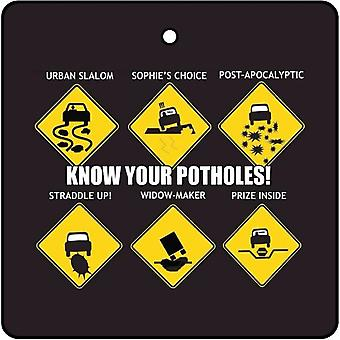 Weten uw Potholes auto luchtverfrisser