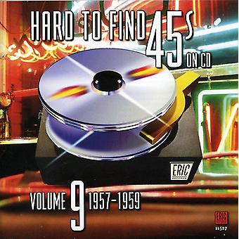 Hard to Find 45's on CD - Hard to Find 45's on CD: Vol. 9-1957-60 [CD] USA import