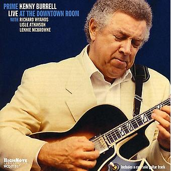 Kenny Burrell - premier : Live at l'importation USA Downtown salle [CD]
