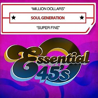 Seele-Generation - Million Dollar/Super Fine [CD] USA import