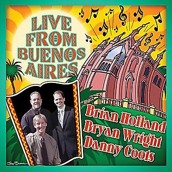 Holland, Brian / Wright, Bryan - Live From Buenos Aires [CD] USA import