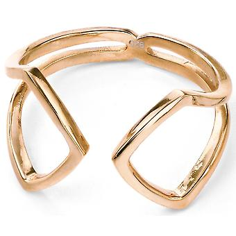 925 Silver Gold Plated Ring Trend
