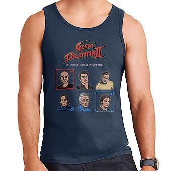 Geek Dilemma II Choose Your Captain Men's Vest