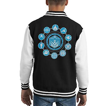 New Striker Destiny Kid's Varsity Jacket