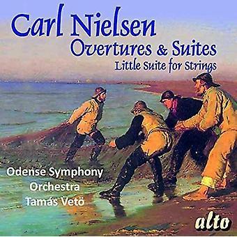 Odense Symphony Orchestra Tamas Veto - Nielsen: Ouvertüren & Suiten [CD] USA import