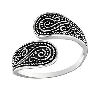 Etnische - 925 Sterling Zilver platte ringen - W32293X