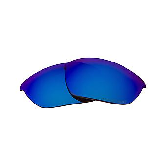 Polarized Replacement Lenses for Oakley Half Jacket Sunglasses Blue Anti-Scratch Anti-Glare UV400 by SeekOptics