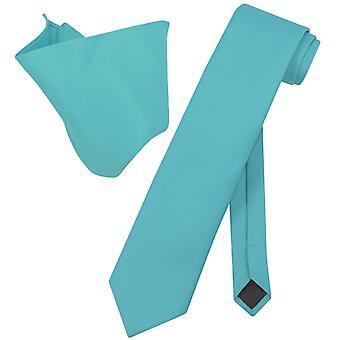 Vesuvio Napoli EXTRA lång halsduk näsduk hals slips Set