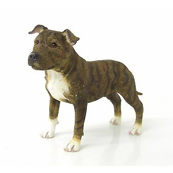 Staffordshire Bull Terrier Dog Figurine