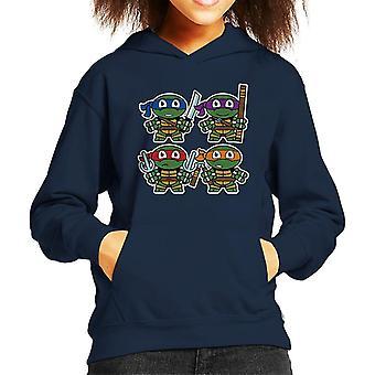Niedliche kleine Teenage Mutant Ninja Turtles Kids Hooded Sweatshirt