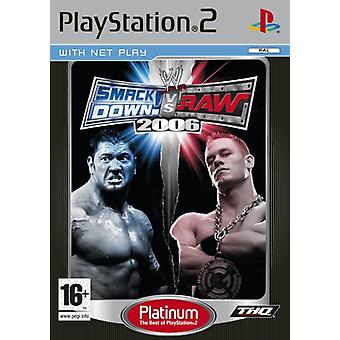WWE SmackDown vs RAW 2006 Platinum (PS2) - New Factory Sealed