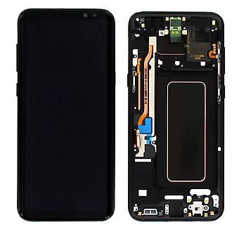 Display LCD complete set GH97 20470A black for Samsung Galaxy S8 plus G955 G955F