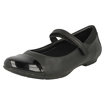 Mary Jane Style école de filles Clarks chaussures Tizz Talk