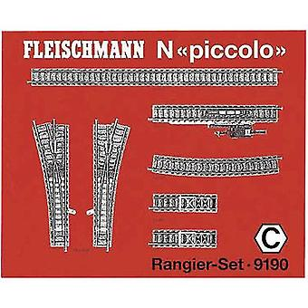 9190 N Fleischmann piccolo (incl. track bed) Expansion set