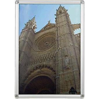 Franken BS0703 Picture frame Paper size: A2 (W x H x D) 45 x 62.4 x 1.2 cm Silver