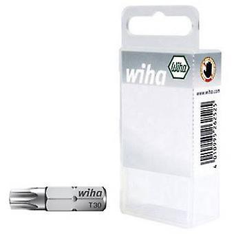Wiha SB-Bit 7015 Z Torx bit T 7, T 8, T 9 Chromium-vanadium steel tempered C 6.3 3 pc(s)