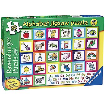 Ravensburger alfabetet pussel 30pc