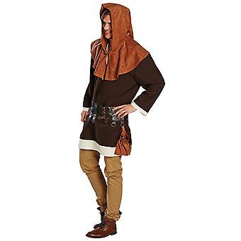 Knecht Knappe Knechtkostüm Tunika Kostüm für Herren
