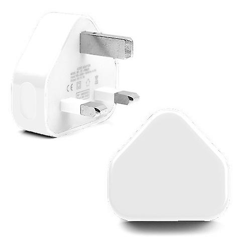 REYTID Replacement USB Power Adapter Compatible with Apple iPhones iPads All Generations 3-Pin UK Plug