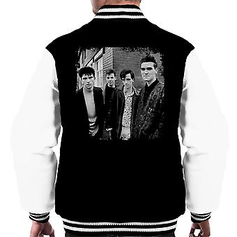 The Smiths Salford Lads Club Shoot Street Shot 1985 Men's Varsity Jacket