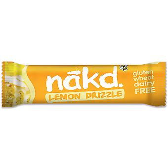 Nakd Gluten Free & Dairy Free Lemon Drizzle Bars
