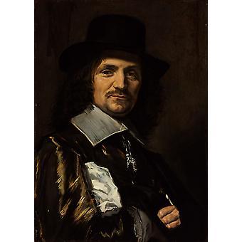 The Painter Jan Asselyn, Frans Hals, 64.5 x 46.3 cm