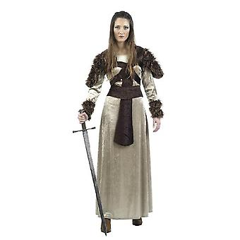 Viking Warrior Freya dames kostuum Normanin Amazon Lady kostuum