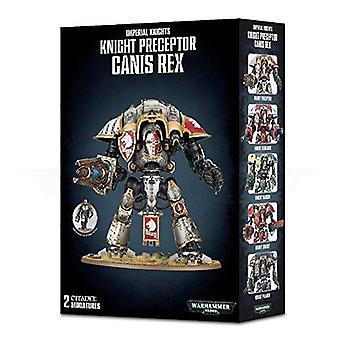 Spill Workshop Warhammer 40 000 citadellet Imperial ridderne veileder Ganis Rex