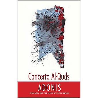 Concerto al-Quds by Adonis - 9780300197648 Book