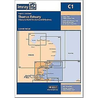 Imray Chart C1 - Thame Estuary by Imray Chart C1 - Thame Estuary - 9781
