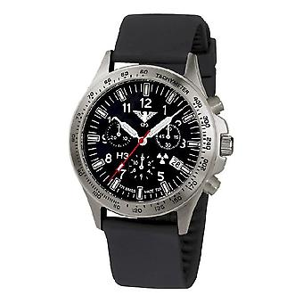 KHS klokker menns ur tropp Titan chronograph KHS. PTC. SB
