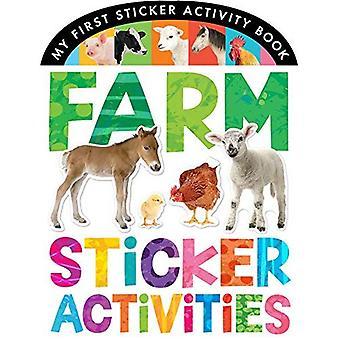 Autocollant des activités agricoles (mon premier livre autocollant d'activité)
