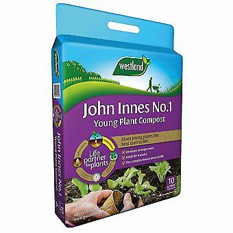 Compost van Westland John Innes No1 jonge Plant