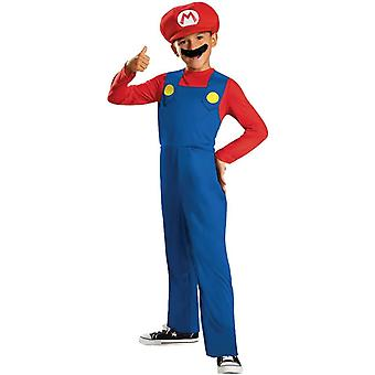 Superbrothers Mario Child Costume