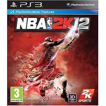 NBA 2K 12 PS3 gra
