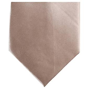 Knightsbridge halsdukar vanlig Polyester Tie - Beige