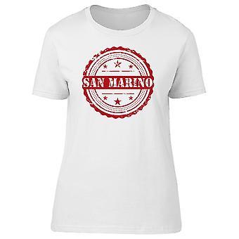 San Marino ciudad Tee hombre-imagen de Shutterstock