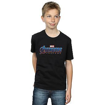 Marvel Boys Avengers Endgame Logo T-Shirt