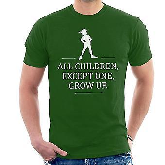 Skal læse åbne linjer Peter Pan mænd T-Shirt