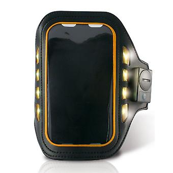 "Sportarmband med LED 4"""