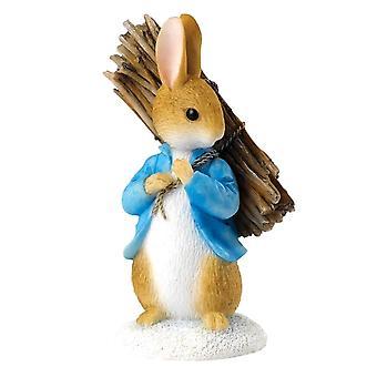 Beatrix Potter Peter Carrying Sticks Mini Figurine