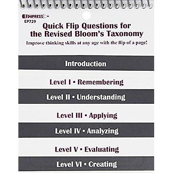 Quick Flip Questions for the Revised Bloom Taxonomy by Linda G Barton
