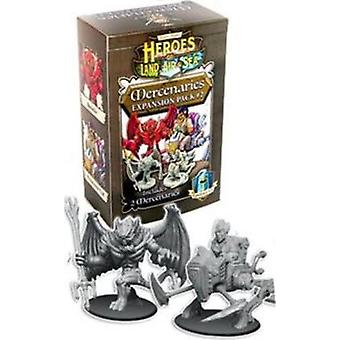 Heroes Of Land Air And Sea Board Game Merc Expansion Pack 2