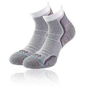 1000 Mile Run Anklet Women's Running Socks (Twin Pack) - AW20