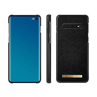 iDeal de Suecia Samsung Galaxy S10 Saffiano Peel-Black