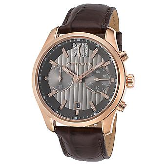 Wittnauer Leather Chronograph Mens Watch WN1016
