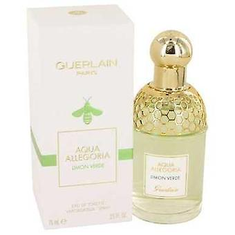 Aqua Allegoria Limon Verde By Guerlain Eau De Toilette Spray 2.5 Oz (women) V728-534585