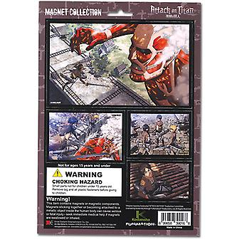 Magnet - Attack on Titan - New Collection Toys Anime Licensed ge39016