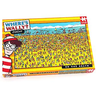 University Games Where's Wally? On The Beach 250 Piece Jigsaw Puzzle