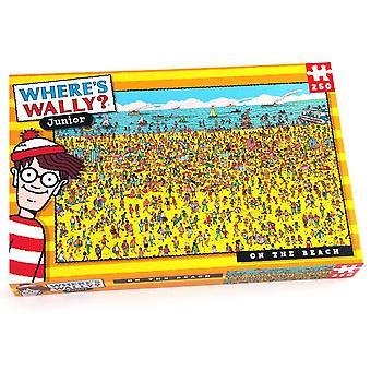 Paul Lamond onde está o Wally? Na praia 250 quebra-cabeça pedaço